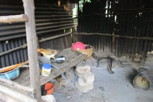The Water Project: Yongoroo Community, New Life Clinic -  Kitchen
