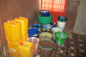 The Water Project: Kasongha Community, Maternal Child Health Post -  Water In Clinic