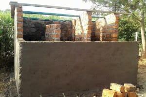 The Water Project: Mutsuma Secondary School -  Tank Construction