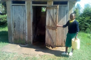 The Water Project: Jidereri Primary School -  Latrines
