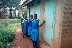 The Water Project: Lugango Primary School -  Latrines