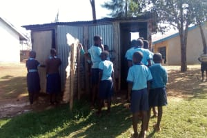 The Water Project: Kenneth Marende Primary School -  Latrines