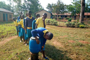 The Water Project: Lugango Primary School -  Hand Washing