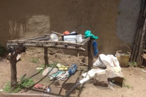 The Water Project: Masera Community, Salim Hassan Spring -  Dish Rack