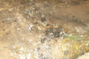 The Water Project: Tulun Community, 10 Tulon Road -  Garbage Site