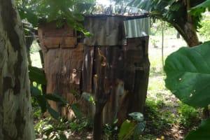 The Water Project: Masera Community, Salim Hassan Spring -  Latrine