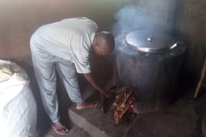 The Water Project: Bishop Makarios Secondary School -  Inside The Kitchen