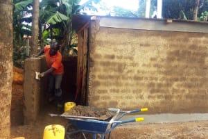 The Water Project: Munyanda Primary School -  Latrine Construction