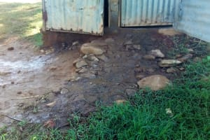 The Water Project: Kenneth Marende Primary School -  Overflowing Latrines