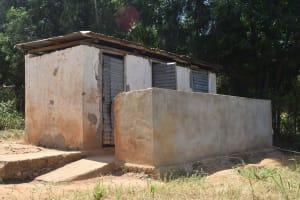 The Water Project: Kithumba Primary School -  Boys Latrines