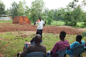 The Water Project: Eshitowa Community -  Reviewing With The Committee
