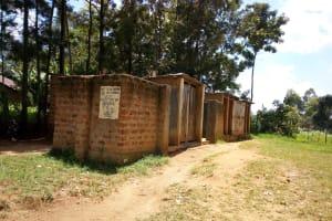 The Water Project: Eshiamboko Primary School -  Latrines