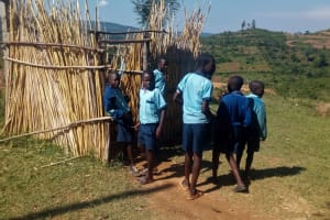 The Water Project: Kenneth Marende Primary School -  Urinal