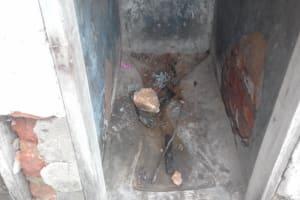 The Water Project: Kapsotik Primary School -  Poor Latrine Sanitation