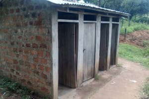 The Water Project: Bishop Makarios Secondary School -  Latrines