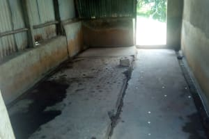 The Water Project: Bishop Makarios Secondary School -  Urinal Converted To Bathing Area
