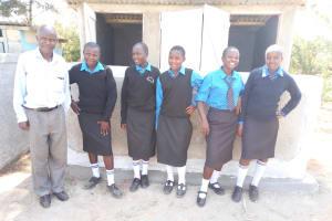 The Water Project: Mutsuma Secondary School -  New Latrines