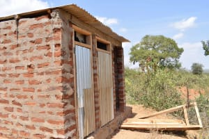The Water Project: Nzalae Primary School -  Boys Latrines