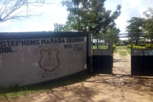 The Water Project: St. Stephen Maraba Secondary School -  School Gate