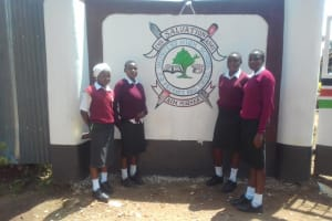 The Water Project: Imusutsu High School -  School Gate