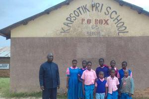 The Water Project: Kapsotik Primary School -  School