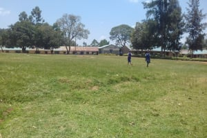 The Water Project: Kamuluguywa Secondary School -  School Grounds