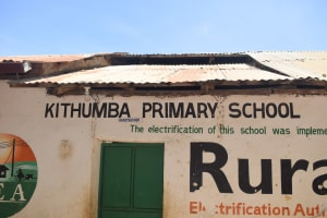 The Water Project: Kithumba Primary School -  Headteacher Office