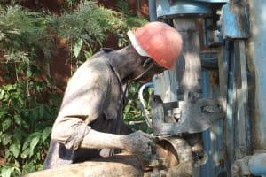 The Water Project: Eshitowa Community -  Drilling