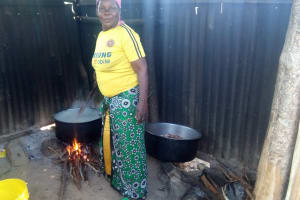 The Water Project: Kenneth Marende Primary School -  School Cook
