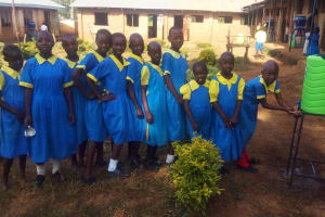 The Water Project: Munyanda Primary School -  Hand Washing Station