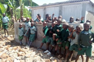 The Water Project: Madivini Primary School -  New Latrines