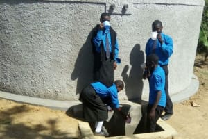 The Water Project: Mutsuma Secondary School -  Clean Water