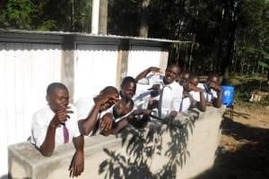 The Water Project: Eshisiru Secondary School -  New Latrines