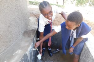 The Water Project: Eshisiru Secondary School -  Clean Water