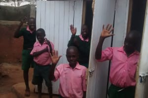 The Water Project: Womulalu Primary School -  New Latrines