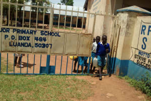 The Water Project: Rabuor Primary School -  Leaving To Fetch Water