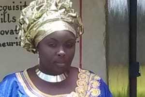 The Water Project: Lihanda Secondary School -  Chairlady Joan Amani