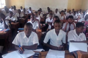 The Water Project: Essong'olo Secondary School -  Students In Class
