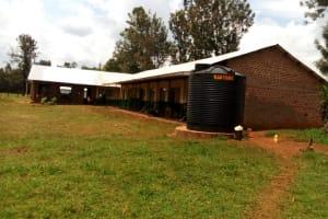 The Water Project: Injira Secondary School -  Plastic Water Tank