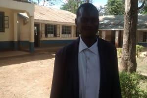 The Water Project: Essaba Secondary School -  Deputy Principal Ominde Zecheriah