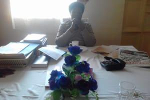 The Water Project: Imusutsu High School -  Headteacher Jane Kavuludi