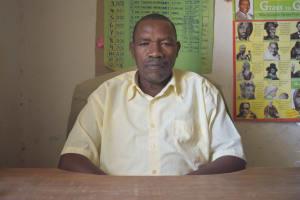 The Water Project: Kithumba Primary School -  Headteacher Titus Mutinda