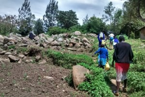 The Water Project: Rabuor Primary School -  Going To Fetch Water