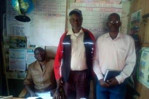 The Water Project: Jidereri Primary School -  Headteacher And Senior Teachers