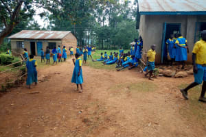 The Water Project: Lugango Primary School -  School Grounds