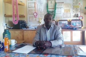The Water Project: Bishop Makarios Secondary School -  School Principal