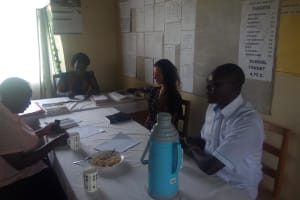 The Water Project: Shitoli Secondary School -  Meeting With Administration