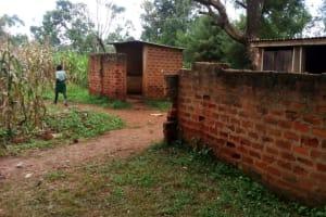 The Water Project: Injira Secondary School -  Primary School Latrines