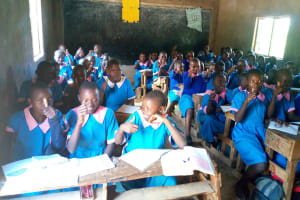 The Water Project: Eshiamboko Primary School -  Students In Class