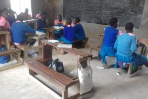 The Water Project: Kapsotik Primary School -  Students In Class